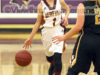 Duluth Denfeld Point Guard Stephanie Ferguson runs Denfeld's offense in the Wood City Classic