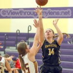 Northwestern's Kaite Lundeen scores for the Tigers.