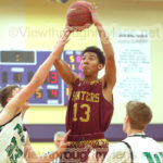 Duluth Denfeld's Shondez Morris shoots in the paint during the Wood City Classic